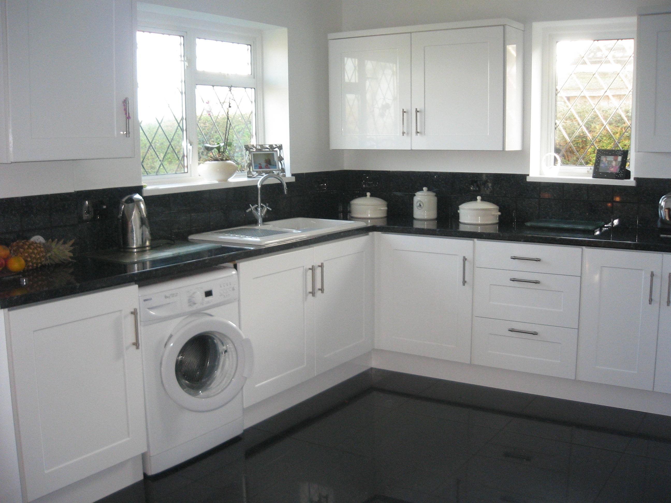 High Gloss White Kitchen Kitchens Elite Timber Solutions